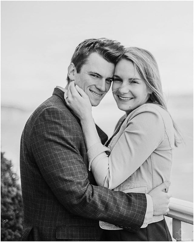 So excited to be part of Allison and Stephan's wedding next year @saintclementscastle!